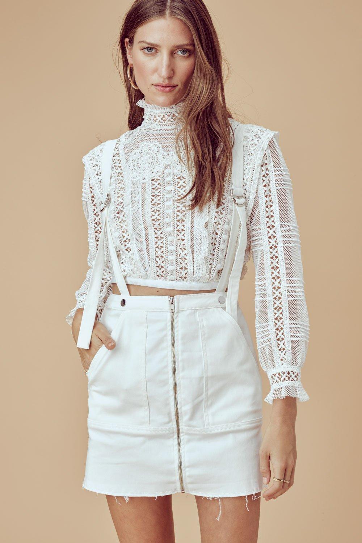 cf91a85641 Monika Overalls Mini Skirt – La Suite Online